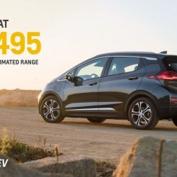 Precio del Chevrolet Bolt. Desde 37.495 dólares