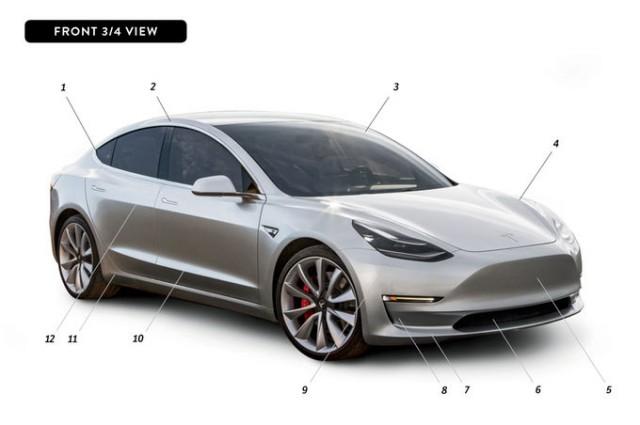 By-Design-Tesla-Model-3-front-three-quarter