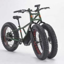Rungu Electric Juggernaut. Una bicicleta eléctrica de lo más bestia