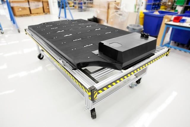 Batería de un tesla Model S