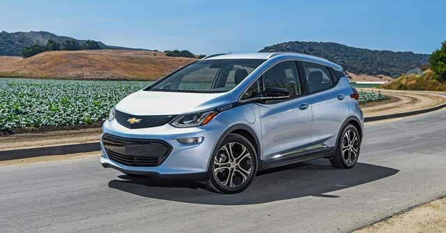 Autonoma Del Chevrolet Bolt Opel Ampera E En Autova A 120 Kmh