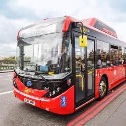 BYD presenta en Londres la flota de autobuses eléctricos más grande de Europa