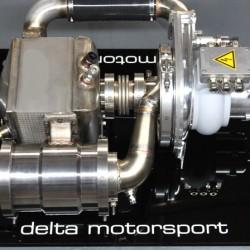 Delta Motorsport presenta una microturbina que funciona como extensor de autonomía para coches eléctricos