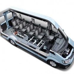 Hyundai H350 Fuel Cell Concept. Un industrial con hasta 422 kilómetros de autonomía