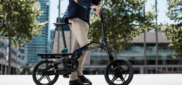 Peugeot eF01: una bici eléctrica plegable y muy atractiva