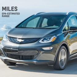 Autonomía del Chevrolet Bolt. 383 kilómetros bajo ciclo EPA