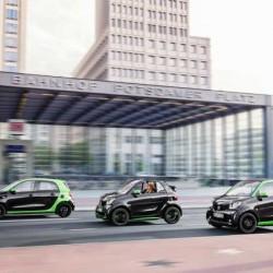 Smart presenta los nuevos ForTwo y ForFour eléctricos. Una decepción por culpa de la batería