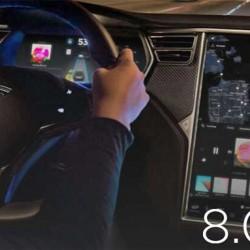 Ya está aquí la versión 8.0 del sistema de Tesla