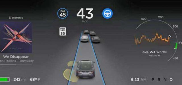 Una aseguradora hace un descuento a los propietarios del Tesla con Autopilot
