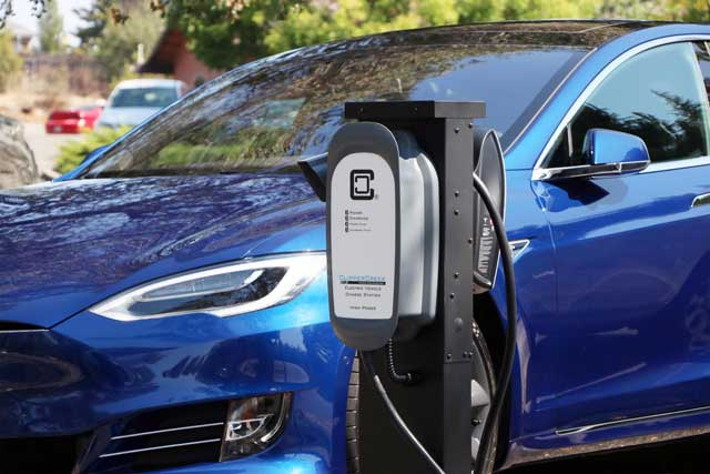 tesla-model-s-charging-with-clippercreek-evse