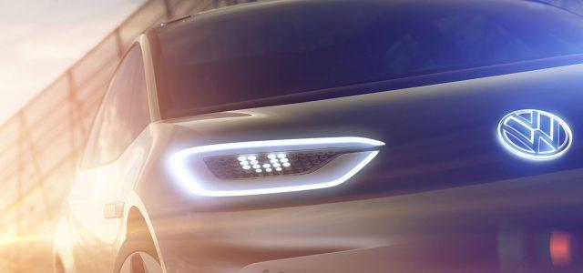 Volkswagen presentará un tercer prototipo eléctrico en el Salón de Shanghái