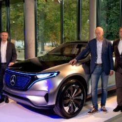 La fábrica de Mercedes en Bremen producirá el primer coche eléctrico de la nueva gama EQ