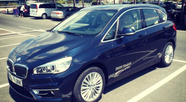 Prueba del BMW 225XE Active Tourer hibrido-enchufable