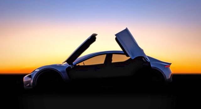 Primera imagen del próximo modelo de Fisker. Un coche eléctrico con batería de grafeno, y puertas tipo mariposa