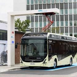 ABB y Volvo ponen en marcha un punto de recarga de código abierto para autobuses eléctricos