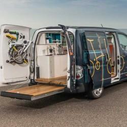 Nissan e-NV200 WORKSPACe. La primera oficina móvil y eléctrica