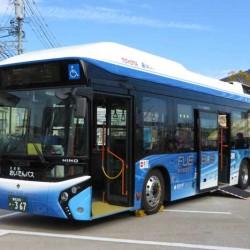 Toyota comenzará las ventas de su autobús a hidrógeno en 2017. Transporte de pasajeros y planta eléctrica móvil