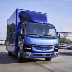 Daimler comenzará la comercialización del camión eléctrico Fuso eCanter el próximo año