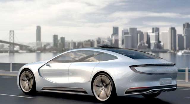 LeSee Pro. Imágenes del coche eléctrico y autónomo