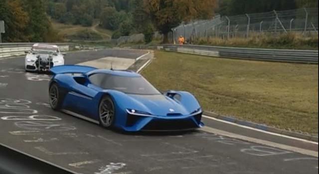 Avistado en Nürburgring el superdeportivo eléctrico de NextEV
