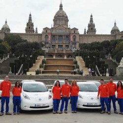 SEUR incorpora 20 Nissan LEAF a su flota de reparto de Barcelona
