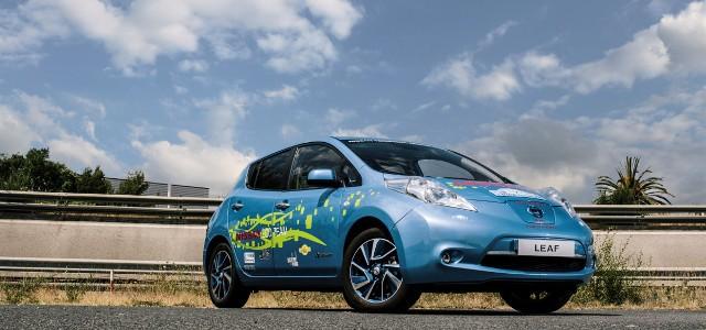 La historia del Nissan LEAF de 48 KWh fabricado por empleados de Nissan
