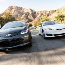 Comparativa: Chevrolet Bolt contra Tesla Model S 60