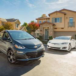 El mercado norteamericano del coche eléctrico espera un gran 2017. Al alza Tesla y General Motors, bajan BMW, Nissan y Toyota