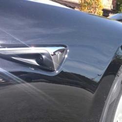 Primer vistazo a los elementos del nuevo sistema Autopilot de Tesla