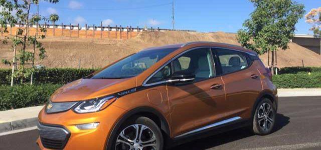Siguen las buenas críticas al Chevrolet Bolt durante las primeras pruebas