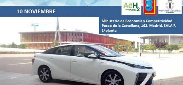 Jornada sobre Aplicaciones y uso de tecnologías del hidrógeno en el transporte