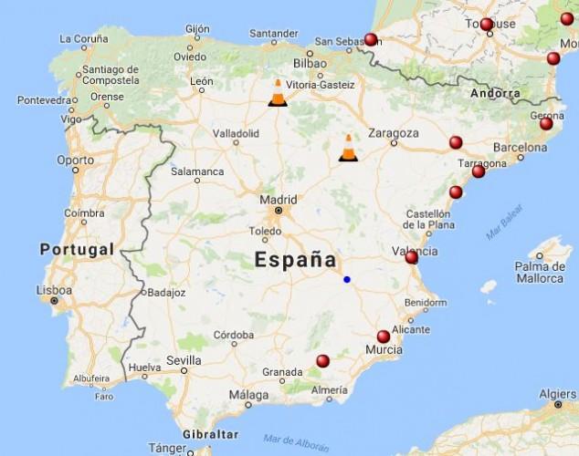 Tesla Instalar 225 Un Supercargador En La Gineta Albacete
