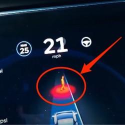 Un vídeo nos muestra la evolución del sistema Autopilot en su última versión. Detección de peatones y frenada completa del vehículo