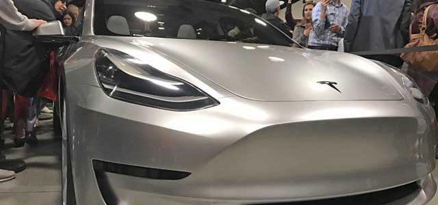 El Tesla Model 3 podría estar listo antes de lo esperado