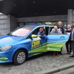 Todos los taxis de Amberes, Bélgica, tendrán que ser eléctricos en 2020