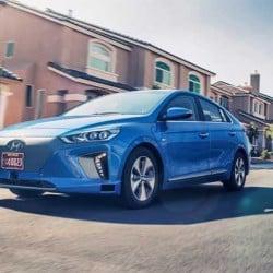 El Hyundai IONIQ autónomo se presenta en Los Ángeles