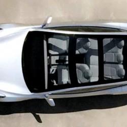 El techo puede ser una de las claves para una fabricación en masa y rápida del Tesla Model 3