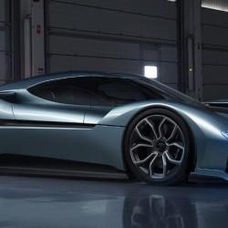 NextEV presenta el NIO EP9, un superdeportivo eléctrico con 1 MW de potencia
