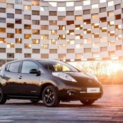 Nissan LEAF Black Edition. Una edición especial del LEAF, sólo con cambios estéticos y de equipamiento