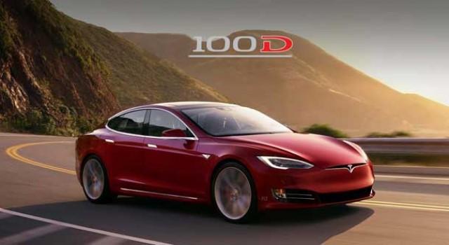 Ya está disponible el Tesla Model S 100D. Hasta 632 kilómetros de autonomía NEDC