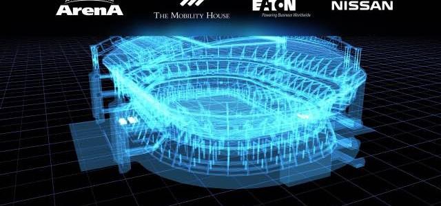 Nissan iluminará el Amsterdam Arena con 280 baterías procedentes del Nissan LEAF