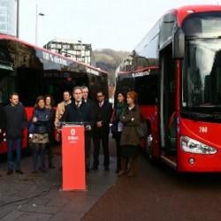 Bilbao incorpora dos autobuses eléctricos de Irizar a su servicio de transporte municipal