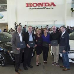 Empiezan las entregas del Honda Clarity Fuel Cell