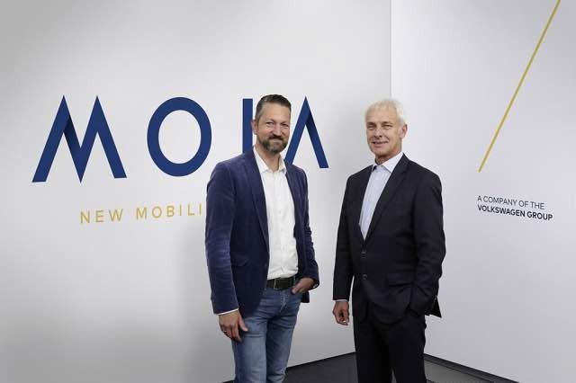 MOIA ? das neue Unternehmen f¸r Mobilit‰tsdienste im Volkswagen Konzern