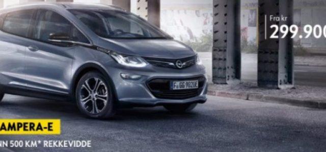El Opel Ampera-e ya tiene precio en Europa. Inicio de las entregas en junio de 2017