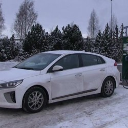 Prueba de autonomía en invierno del Hyundai IONIQ eléctrico