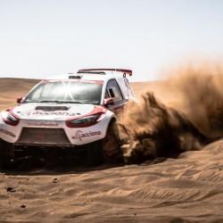 El Acciona 100% EcoPowered vuelve al Dakar como el único coche eléctrico y cero emisiones