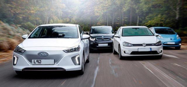 Comparativa Hyundai IONIQ eléctrico, contra BMW i3, Nissan LEAF, Volkswagen e-Golf