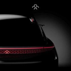 Faraday Future publica un nuevo adelanto de su primer coche. Un prototipo sin espejos retrovisores