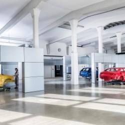 El Audi e-tron será el primero en usar la nueva producción modular y flexible de Audi